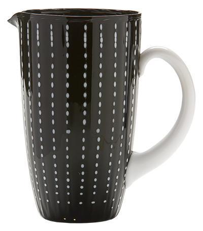 Кувшин Перле (1.6 л), черный