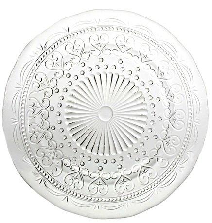 Тарелка Провенцале, 28 см, прозрачная
