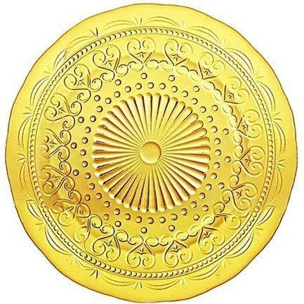 Тарелка Провенцале, 34 см, янтарная