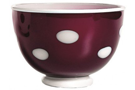 Чаша (650 мл), аметист-белаяСалатницы, Супницы<br><br><br>Серия: Bon Bon