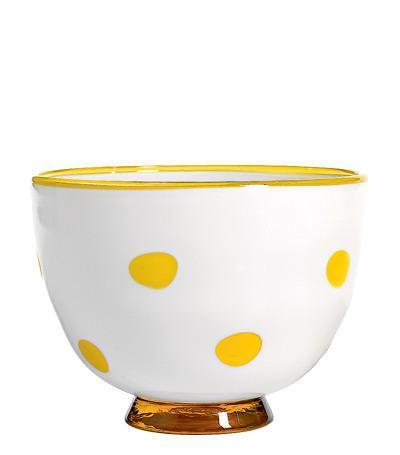 Чаша (650 мл), белая-жёлтая