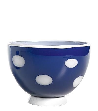 Чаша (650 мл), синяя-белаяСалатницы, Супницы<br><br><br>Серия: Bon Bon