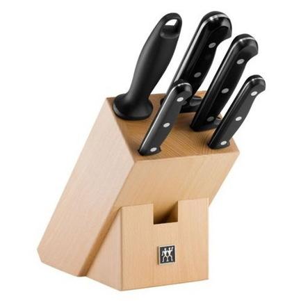 Набор ножей Professional S, 5 пр., в подставкеНаборы ножей<br><br><br>Серия: PROFESSIONAL S<br>Состав: Нож для овощей, 10 см, Нож универсальный, 13 см, Нож для нарезки, 16 см, Нож поварской, 20 см, Мусат, Подставка из натурального дерева