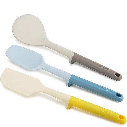 Набор для выпечки Elevate Baking Set мульти, 3 пр.Спатулы<br><br><br>Серия: Elevate<br>Состав: Ложка для крутого теста, Лопатка для жидкого теста, Лопатка для печений