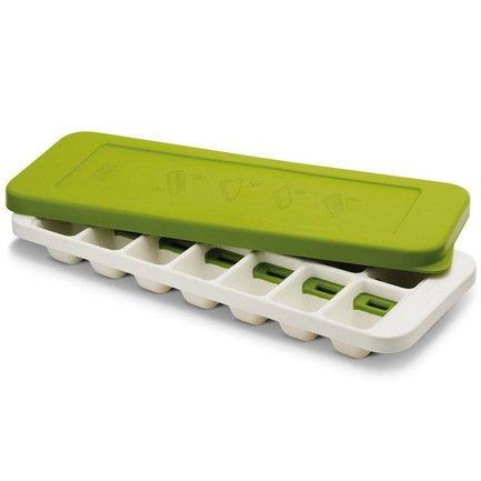 Форма для льда QuickSnap Plus, 33х4х13 см, зелено-белая