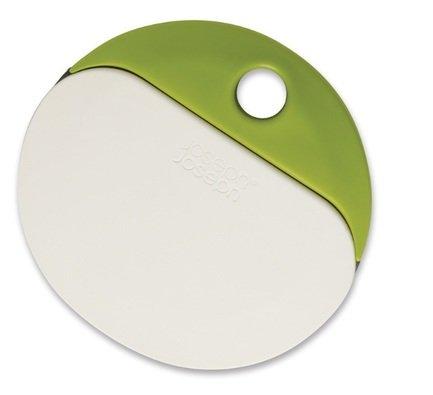Нож и скребок для теста Duo bake, бело-зеленый