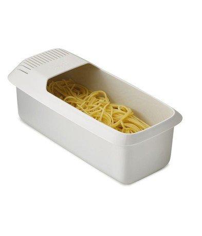 Форма для приготовления пасты в микроволновой печи M-Cuisine, 30х10х14 см, белая