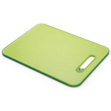 Доска разделочная с ножеточкой Slice & Sharpen большая, 37х1х28 см, зеленая