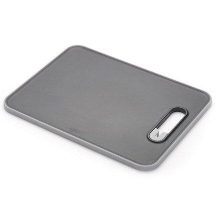 Доска разделочная с ножеточкой Slice &amp; Sharpen большая, 37х1х28 см, чернаяРазделочные доски<br><br><br>Серия: Slice &amp; Sharpen