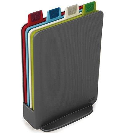 Набор разделочных досок Index Mini, 4 шт., в кейсе, 15.521.57 см, графит