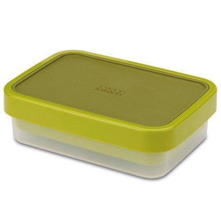 Ланч-бокс компактный GoEat, 19х5.5х13.5 см, зелёный