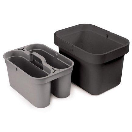 Органайзер для моющих средств Clean&Store, 272635.5 см, серый