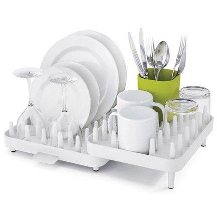 Сушка для посуды Connect, 44.5х10.5х29 см, белая