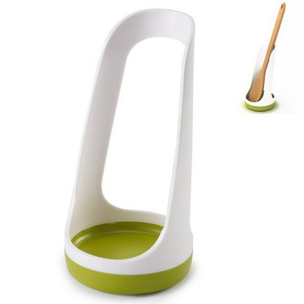 Подставка для ложки SpoonBase, 15х8.5 см, белая