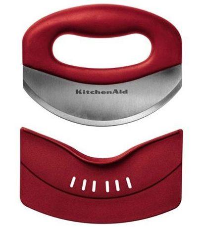 Мезалуна KitchenAid, красная, в чехле, 16x3.3x17.8 см