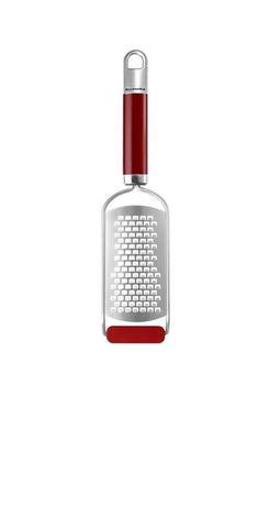 Терка средняя KitchenAid, красная, 18х5 смТерки и Слайсеры<br><br><br>Серия: Gadgets &amp; Utensils