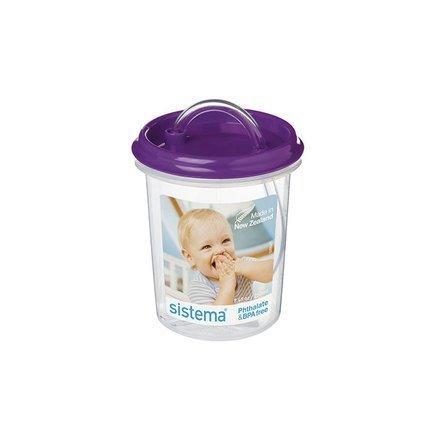 Детская чашка с носиком (250 мл), 8х8х18.6 см, цвета в ассортименте
