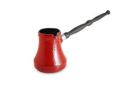 Турка Ibriks Hammered (0.35 л), красная