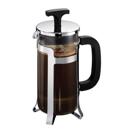 Кофейник с прессом Jesper (0.35 л), 12.5х8.5х19 см, хром