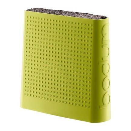 Подставка для ножей Bistro, зеленая