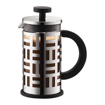 Кофейник с прессом Eileen (0.35 л), 8х13х15.8 см, хром