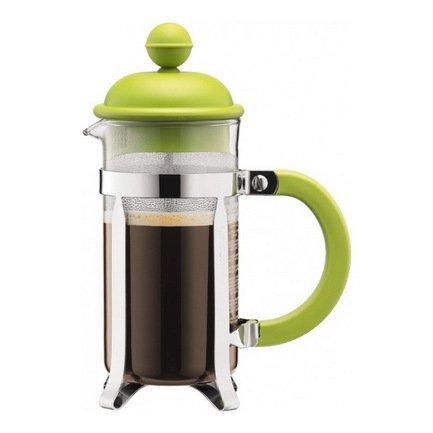 Кофейник с прессом Caffettiera (0.35 л), зеленый
