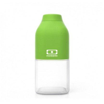 Бутылка MB Positive S (0.33 л), зеленая, 6х13.7 см