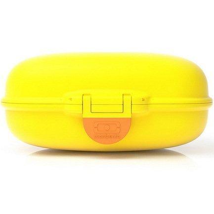 Ланч-бокс MB Gram (0.6 л), 14.8 х7х11.4 см, банановый