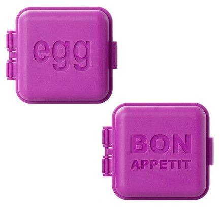 Пресс-формы для яйца, 2 шт., фуксия, 5.5х5.5х3.3 см