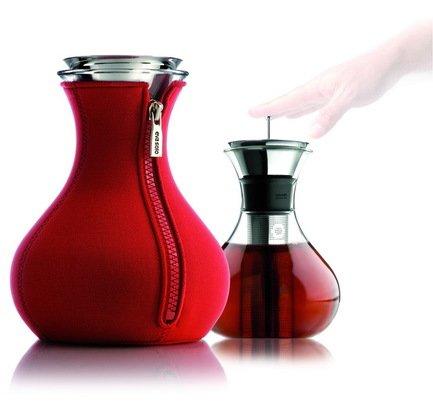 Чайник заварочный Eva Solo Tea maker в неопереновом чехле, красный, 14.5x18.5 см (1 л)