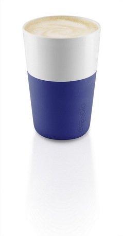 Чашки для латте Eva Solo Latte, синие, 8.5x12.5 см (360 мл), 2 шт.