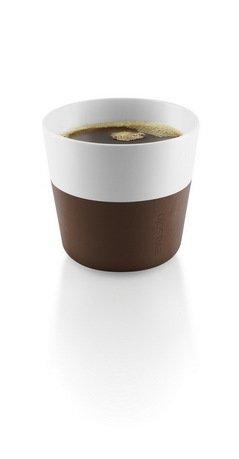 Чашки для лунго Eva Solo Lungo, коричневые, 8.5x8 см (230 мл), 2 шт.Чашки и Кружки<br><br><br>Серия: Lungo
