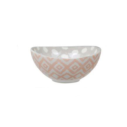 Чаша Tokyo Design Kasuri, розова-серая, 13.2x6.3 см