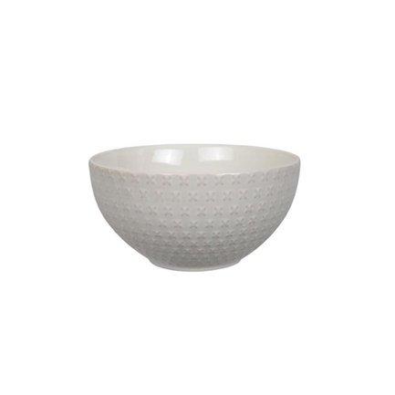 Чаша Tokyo Design Textured, белая, рельефная, 15.5x9 см