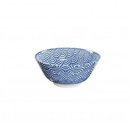 Чаша Tokyo Design Nippon, синяя, 15.2x6.7 смСалатницы, Супницы<br><br><br>Серия: Nippon