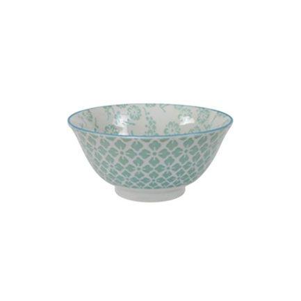 Чаша Tokyo Design Colored Tayo, зеленая, 15x7 см
