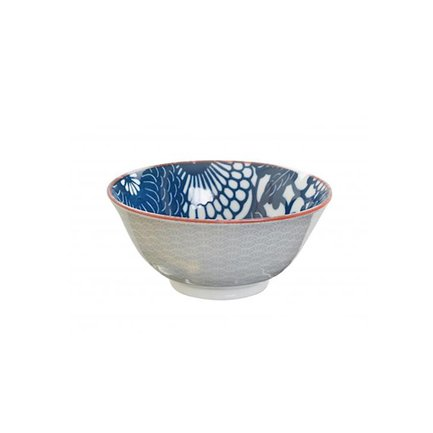 Чаша Tokyo Design Shiki Tayo, голубо-синяя, 15x7 смСалатницы, Супницы<br><br><br>Серия: Shiki Tayo
