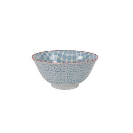 Чаша Tokyo Design Colored Tayo, голубая, 15x7 см