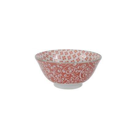 Чаша Tokyo Design Colored Tayo, красная, 15x7 см