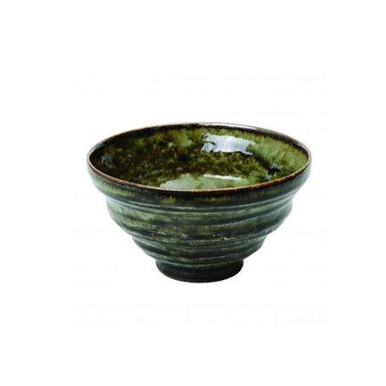 Чаша Tokyo Design Green Oribe, зеленая, 16.5x7 см