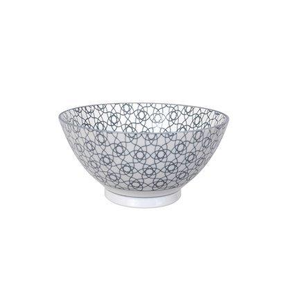 Чаша Tokyo Design Nippon, серая, 18x9 см