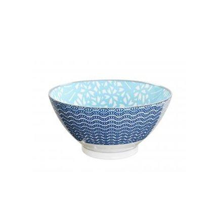 Чаша Tokyo Design Shiki, сине-голубая, 18x9 смСалатницы, Супницы<br><br><br>Серия: Shiki