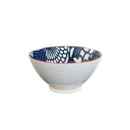 Чаша Tokyo Design Shiki, красно-серая, 18x9 см