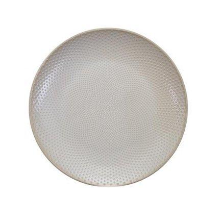 Тарелка Tokyo Design Textured, белая, рельефная, 25x3 см