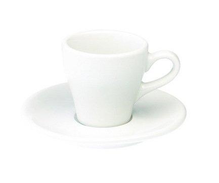 Кофейная пара Loveramics Tulip (0.08 л), белаяЧашки и Кружки<br><br><br>Серия: Loveramics Tulip<br>Состав: Чашка (0.08 л), 6х6 см - 1 шт., Блюдце, 12.5х2 см - 1 шт.