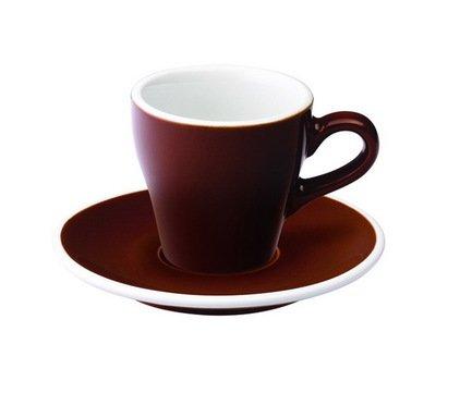 Кофейная пара Loveramics Tulip (0.08 л), коричневаяЧашки и Кружки<br><br><br>Серия: Loveramics Tulip<br>Состав: Чашка (0.08 л), 6х6 см - 1 шт., Блюдце, 12.5х2 см - 1 шт.