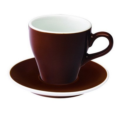 Чайная пара Loveramics Tulip (0.28 л), коричневая