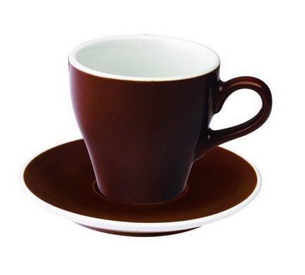 Чайная пара Loveramics Tulip (0.28 л), коричневаяЧашки и Кружки<br><br><br>Серия: Loveramics Tulip<br>Состав: Чашка (0.28 л), 9х9 см - 1 шт., Блюдце, 15х2 см - 1 шт.
