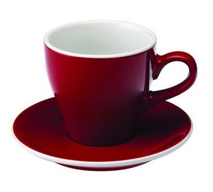 Чайная пара Loveramics Tulip (0.28 л), краснаяЧашки и Кружки<br><br><br>Серия: Loveramics Tulip<br>Состав: Чашка (0.28 л), 9х9 см - 1 шт., Блюдце, 15х2 см - 1 шт.