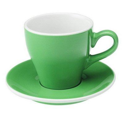 Чайная пара Loveramics Tulip (0.28 л), зеленаяЧашки и Кружки<br><br><br>Серия: Loveramics Tulip<br>Состав: Чашка (0.28 л), 9х9 см - 1 шт., Блюдце, 15х2 см - 1 шт.